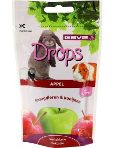 Knaagdier Drops Appel 75 Gram