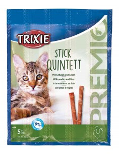 Trixie Premio Stick Quintett Gevogelte/Lever