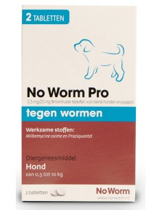 Emax No Worm Pro Small & Puppy 2 Tabletten