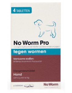 Emax No Worm Pro Small & Puppy 4 Tabletten