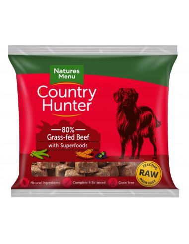 Natures Menu Frozen Country Hunter Beef 1KG