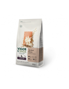 Vigor & Sage Cat Adult Beauty Lily Root 400 Gram
