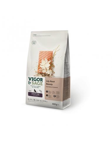 Vigor & Sage Cat Adult Beauty Lily Root 400 Gram