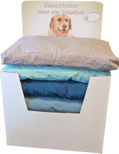 Hondenkussen Boxbed 4-Kleur...
