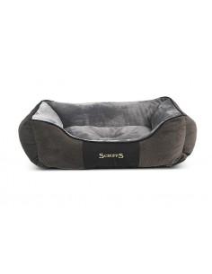 Scruffs Chester Box Bed Graphite Medium 60 X 50 CM