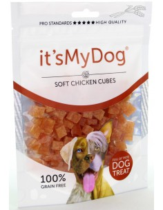 It's My Dog Chicken Soft Cubes 85 Gram