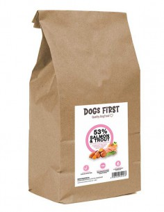 Dogs First Zalm met Forel,...