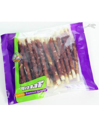 Braaaf Roll Sticks Eend 300 Gram (30 Stuks)