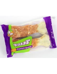 Braaaf Geperst Been Kip 130 Gram ( 2 Stuks)