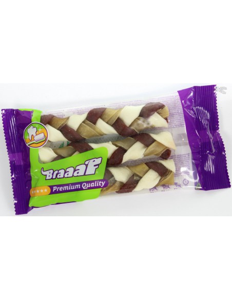 Braaaf Twister Vlecht Klein (3 Stuks)