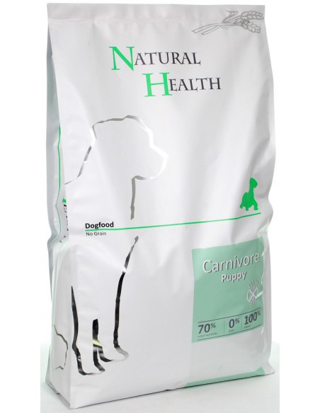 Natural Health Dog Carnivore Puppy 7,5 KG
