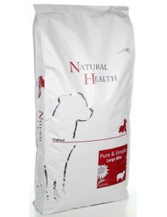 Natural Health Dog Lamb & Rice Large bite 12,5 KG