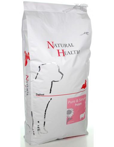 Natural Health Dog Lamb & Rice Puppy 12,5 KG