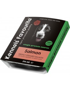 Kennels Favourite Steamed Salmon 400 Gram