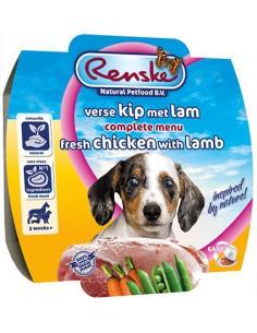 Renske Hond Pup Kip & Lam 100 Gram