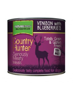 Natures Menu Hond Country Hunter Blik Venison 600 Gram