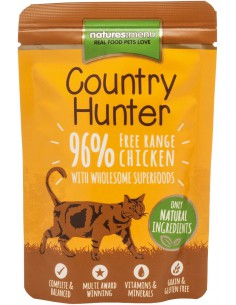 Natures Menu Kat Country Hunter Pouch Chicken 85 Gram