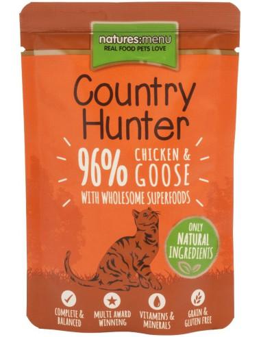 Natures Menu Kat Country Hunter Pouch Chicken & Goose 85 Gram