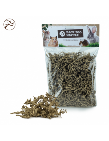 Back Zoo Nature Rodent Crinkle Paper Natural