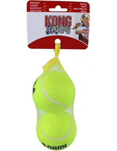 Kong Hond Squeakair Net A 2 Tennisbal+Piep Large