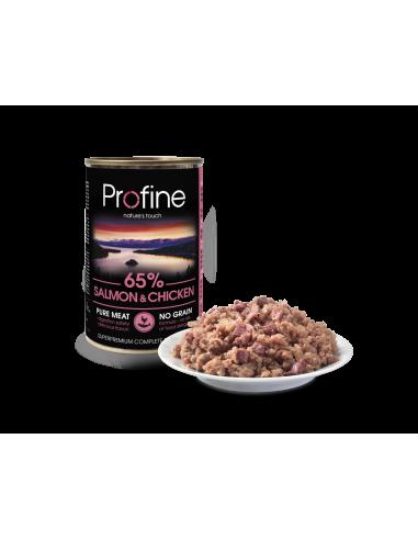 Profine 65% Salmon & Chicken 400 Gram
