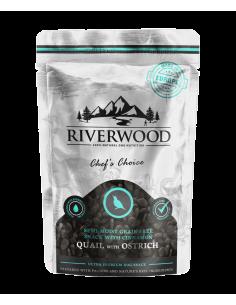 Riverwood Semi Moist Snack Quail & Ostrich 200 Gram