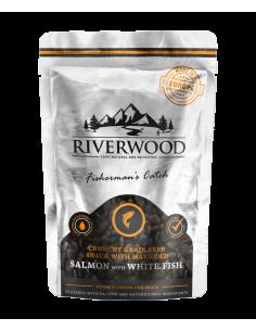 Riverwood Crunchy Snack Salmon & Whitefish 200 Gram