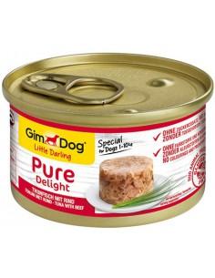 Gimdog Pure Delight Tonijn Met Rund 85 Gram