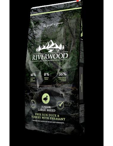 Riverwood Junior Large Breed Duck/Turkey/Pheasant 12 KG